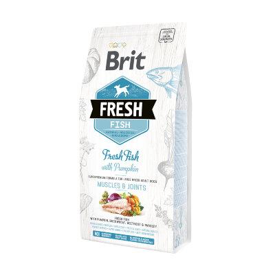 Сухой корм для собак крупных пород Brit Fresh Fish with Pumpkin с рыбой и тыквой - Мышцы и суставы