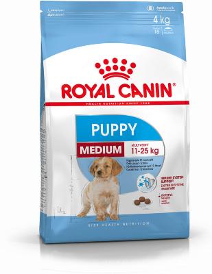Сухой корм Royal Canin Medium Puppy для щенков средних размеров
