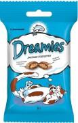 Лакомство Dreamies для кошек с лососем