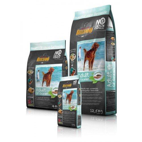Сухой корм Belcando Adult GF Ocean беззерновой для собак средних и крупных пород с рыбой