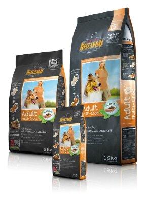 Сухой корм Belcando Adult Multi-Croc для взрослых собак, привередливых в еде