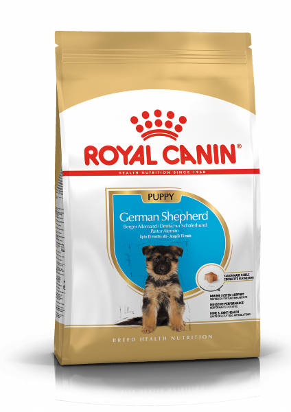 Сухой корм Royal Canin German Shepherd Puppy для щенков породы Немецкая овчарка
