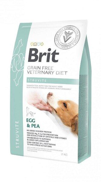 Сухой корм Brit Veterinary Diet Dog Grain free Struvite беззерновой, при струвитном типе МКБ