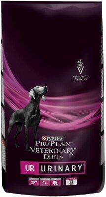 Сухой корм Pro Plan Veterinary Diets UR для собак при мочекаменной болезни, 3кг