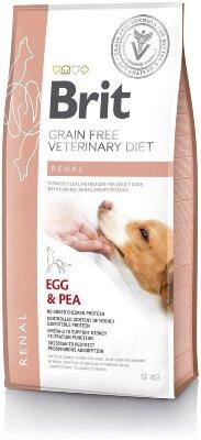 Сухой корм Brit Veterinary Diet Dog Grain Free Renal беззерновой, при хронической почечной недостаточности