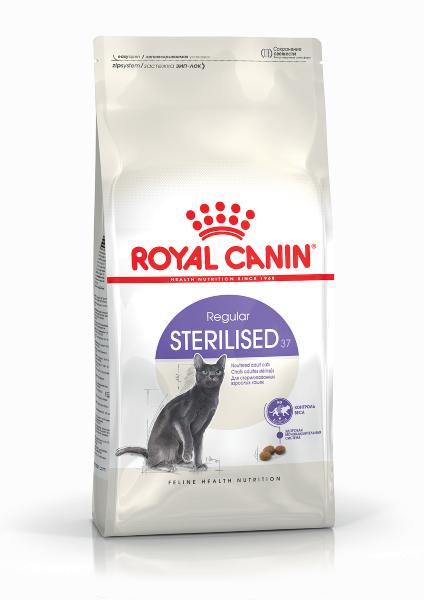 Сухой корм Royal Canin Sterilised 37 для стерилизованных кошек