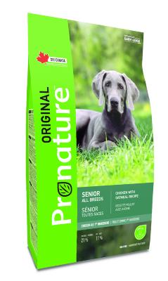 Сухой корм Pronature Original для пожилых и малоактивных собак