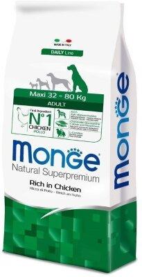 Сухой корм Monge Dog Maxi для взрослых собак крупных пород