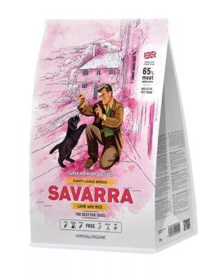 Сухой корм Savarra Puppy Large Breed для щенков крупных пород с ягненком и рисом