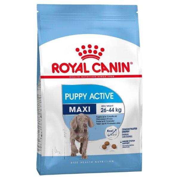 Сухой корм Royal Canin Maxi Puppy Active для активных щенков крупных пород