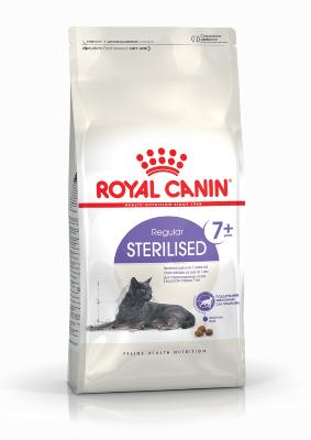Сухой корм Royal Canin Sterilised 7+ для стерилизованных кошек от 7 лет