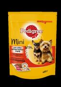 Сухой корм Pedigree для взрослых собак миниатюрных пород с говядиной