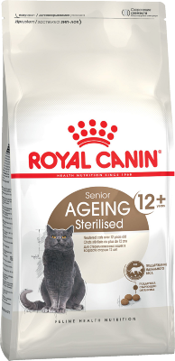 Сухой корм Royal Canin Ageing Sterilised 12+ для стареющих кошек от 12 лет