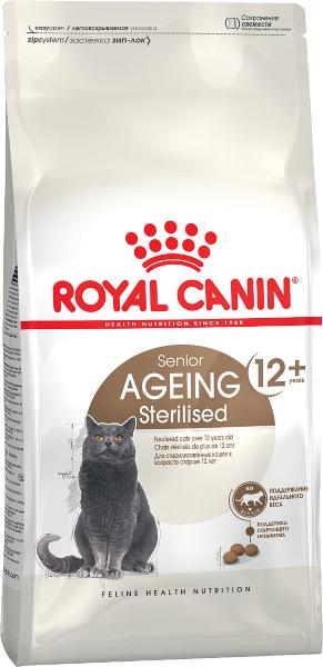 Сухой корм Royal Canin Ageing Sterilised 12+ для стареющих кошек от 12 лет