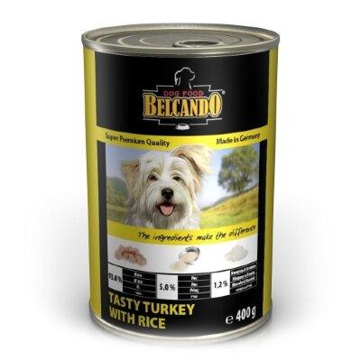 Консервы для собак Belcando со вкусной индейкой и рисом