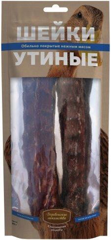Шейки утиные Деревенские лакомства Классические рецепты, для собак, 90г