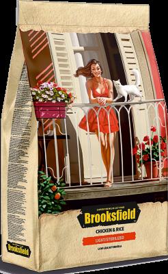 Сухой корм Brooksfield Adult Cat Light/Sterilized Chicken для кошек с избыточным весом и стерилизованных