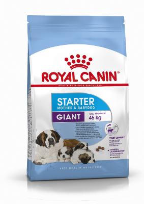 Сухой корм Royal Canin Giant Starter для новорожденных щенков гигантских пород и беременных сук
