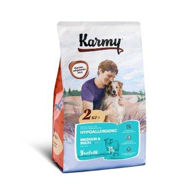 Сухой корм Karmy Гипоаллергенный Medium and Maxi Ягненок для собак средних и крупных пород