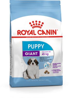 Сухой корм Royal Canin Giant Puppy для щенков гигантских пород с 2 до 8 месяцев