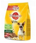 Сухой корм Pedigree для взрослых собак маленьких пород с говядиной