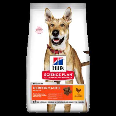 Сухой корм Hill's Science Plan Performance для взрослых активных собак с курицей