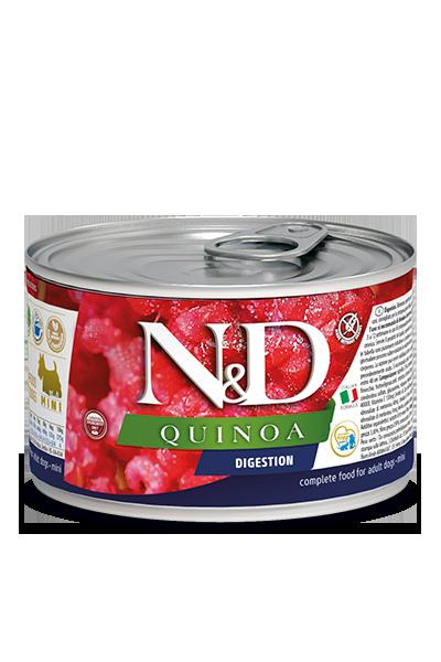 Консервы Farmina N&D Quinoa Digestion для взрослых собак. Поддержка пищеварения
