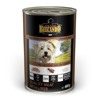 Консервы для собак Belcando с отборным мясом и печенью