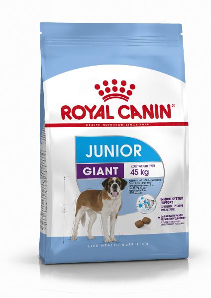 Сухой корм Royal Canin Giant Junior для щенков гигантских пород, 15кг