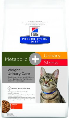 Сухой корм Hill's Prescription Diet Metabolic + Urinary для коррекции веса и при МКБ у кошек