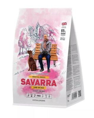 Сухой корм Savarra Adult All Breeds Lamb для собак всех пород с ягненком и рисом