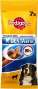 Лакомство по уходу за зубами Pedigree Denta Stix для собак крупных пород, 270г