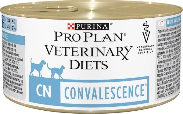 Консервы Pro Plan Veterinary Diets CN для кошек и собак послеоперационное восстановление, 24шт x 195г