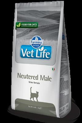 Сухой корм Farmina Vet Life Cat Neutered Male для кастрированных котов