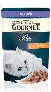 Паучи GOURMET PERLE для кошек с ягненком, 24шт x 85г