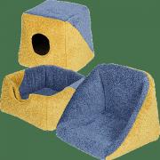 Дом - трансформер (букле) для кошек и мелких собак Зооник