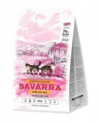 Сухой корм Savarra Sensitive для кошек с чувствительным пищеварением, с ягненком и рисом