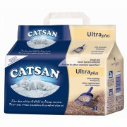 Наполнитель Catsan Ultra Plus комкующийся для кошек, 5 л