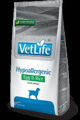 Сухой корм Farmina Vet Life Hypoallergenic гипоаллергенный для собак с яйцом и рисом