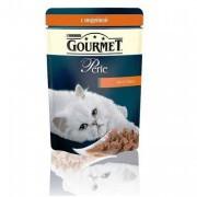 Паучи GOURMET PERLE для кошек с индейкой, 24шт x 85г