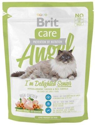 Сухой корм Brit Care Cat Angel Delighted Senior для пожилых кошек