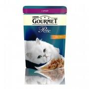 Паучи GOURMET PERLE для кошек с уткой, 24шт x 85г