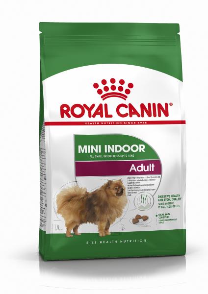 Сухой корм Royal Canin Mini Indoor Adult для собак мелких пород, живущих в помещении