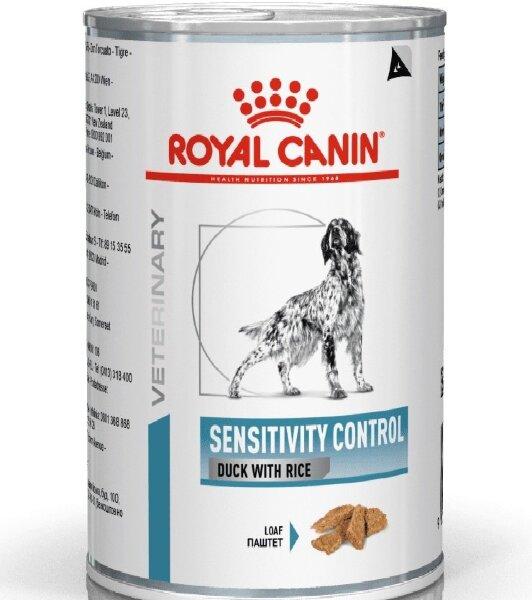 Консервы Royal Canin Sensitivity Control при пищевой аллергии у собак, 420г