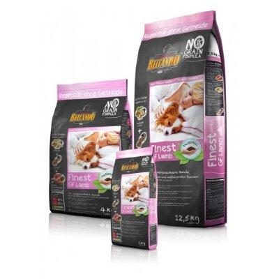 Сухой беззерновой корм Belcando Finest GF Lamb для взрослых собак мелких и средних пород с ягненком