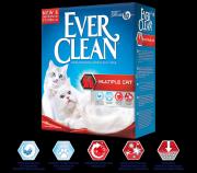 Наполнитель Ever Clean Multiple Cat комкующийся для нескольких кошек, 10л