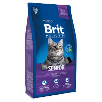 Сухой корм Brit Premium Cat Senior для пожилых кошек