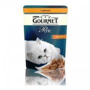 Паучи GOURMET PERLE для кошек с курицей, 24шт x 85г