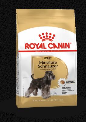 Сухой корм Royal Canin Miniature Schnauzer Adult для взрослых Мини-Шнауцеров