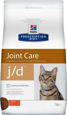 Сухой корм для кошек Hill's Prescription Diet j/d для лечения заболеваний суставов, с курицей, 2кг